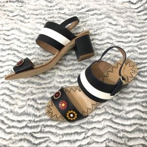 Tory Burch Marguerite Two Band Sandal